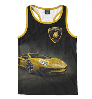 Майка борцовка мужская Lamborghini (5747)