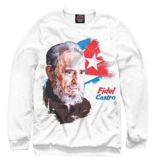 Одежда с принтом Fidel Castro