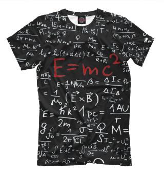 Футболка мужская E=mc