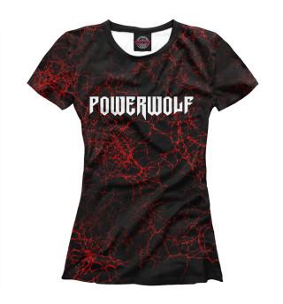 Футболка женская Powerwolf (1145)
