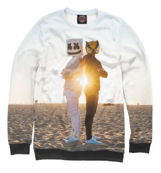 Одежда с принтом Marshmello (700641)