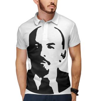 Поло мужское Ленин