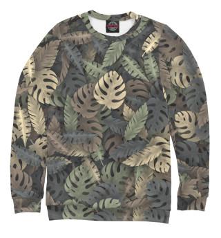 Одежда с принтом Тропический камуфляж