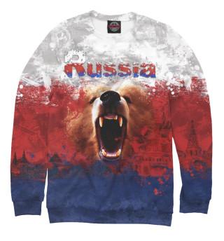 Одежда с принтом Россия (469112)