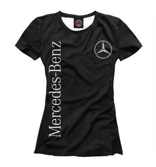 Футболка женская Mercedes-Benz
