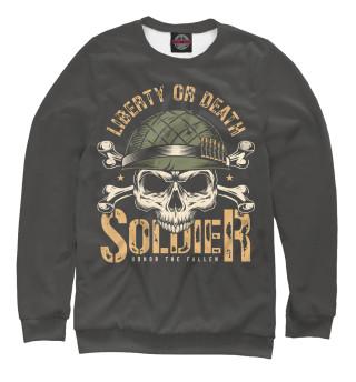 Одежда с принтом Liberty or death