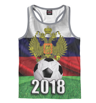 Майка борцовка мужская Футбол 2018