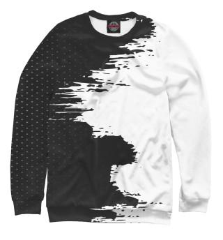 Одежда с принтом Чёрно-белая геометрия