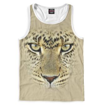 Майка борцовка мужская Леопард (5542)