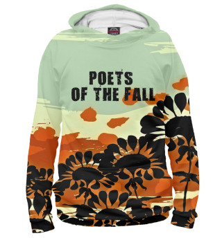 Худи женское Poets of the fall band