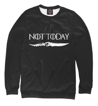 Одежда с принтом Not today