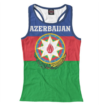 Майка борцовка женская Azerbaijan