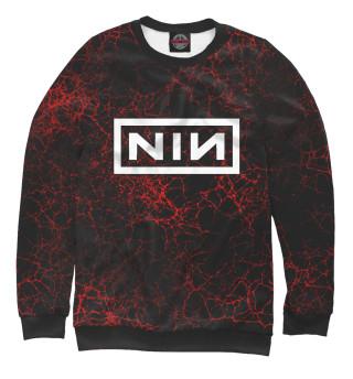 Одежда с принтом Nine Inch Nails (923127)
