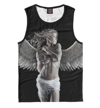 Майка мужская Девушка - ангел