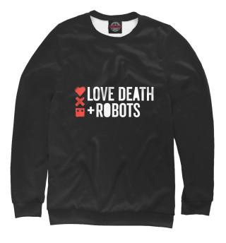 Одежда с принтом Любовь, смерть и роботы (116117)