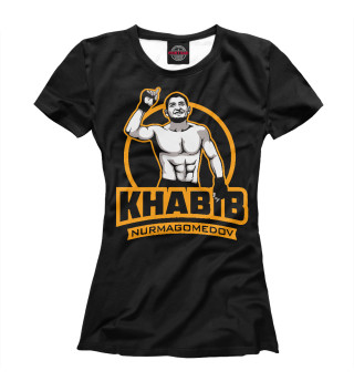 Футболка женская Khabib