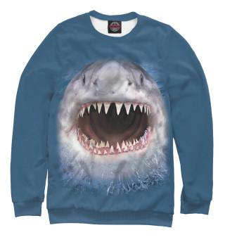 Одежда с принтом Акула