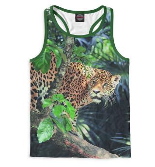 Майка борцовка мужская Леопард (9195)