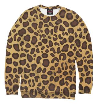 Одежда с принтом Леопардовый раскрас