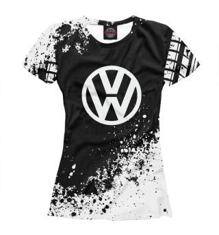 Футболка женская Volkswagen (9373)