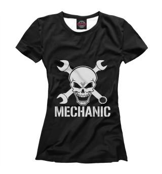 Футболка женская Mechanic