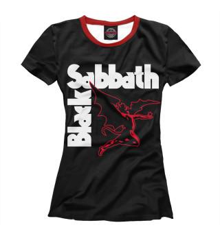 Футболка женская Black Sabbath