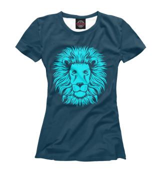 Футболка женская Лев (5388)