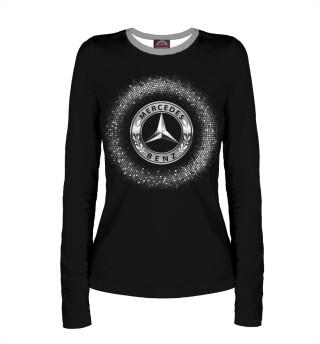 Лонгслив  женский Mercedes-Benz (5297)