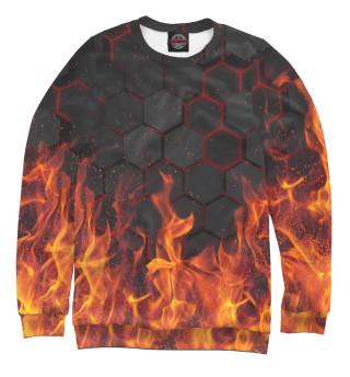 Одежда с принтом Fire
