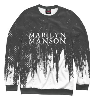 Одежда с принтом Marilyn Manson / М. Мэнсон (754187)