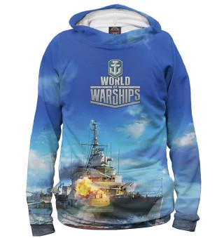 Худи женское World of Warships (9649)