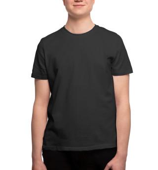 Одежда с принтом Черная