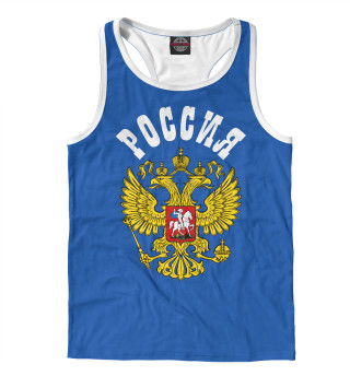 Майка борцовка мужская Герб России (7398)