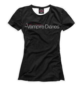 Футболка женская Дневники вампира