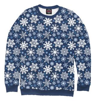 Одежда с принтом Снежинки (111217)