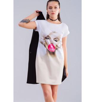Одежда с принтом Мэрилин Монро (679941)