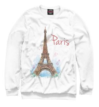 Одежда с принтом Париж