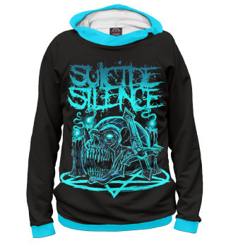 Худи женское Suicide Silence (4064)