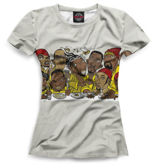 Футболка женская Wu-Tang Clan (9616)