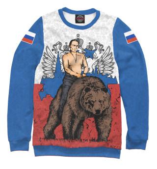 Одежда с принтом Лидер России