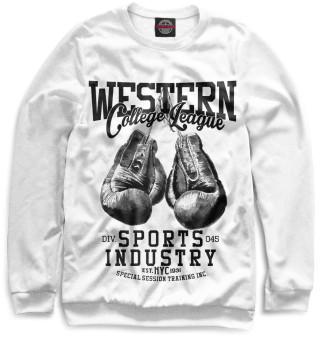 Одежда с принтом Western