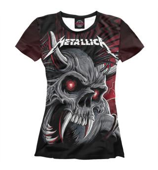 Футболка женская Metallica (8092)