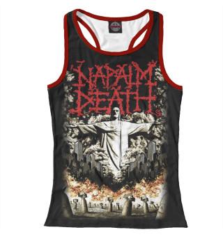 Майка борцовка женская Napalm Death (5815)