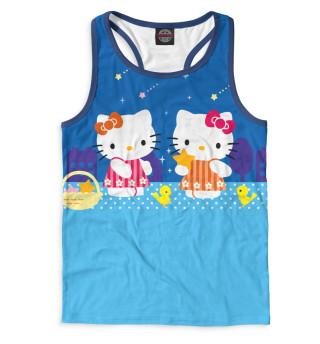 Майка борцовка мужская Hello Kitty (3804)
