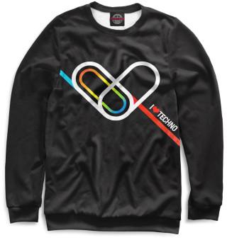 Одежда с принтом Techno (765991)