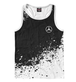 Майка борцовка мужская Mercedes-Benz abstract sport uniform