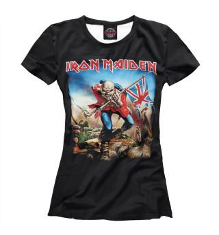 Футболка женская Iron Maiden (1066)