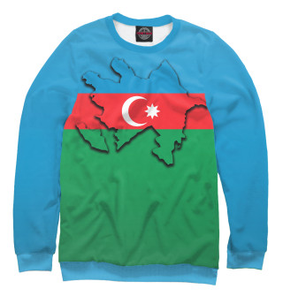 Одежда с принтом Азербайджан (404407)