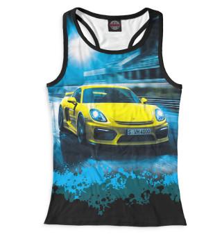 Майка борцовка женская Porsche (6913)