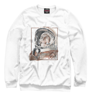 Одежда с принтом Гагарин (154122)